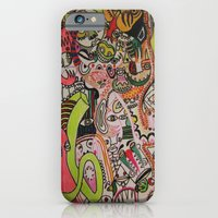 iPhone & iPod Case featuring miles davies by Dan Feit