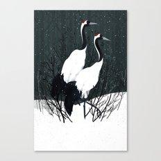 Japanese Cranes / Sayuri Canvas Print