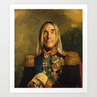 Iggy Pop - Replaceface Art Print