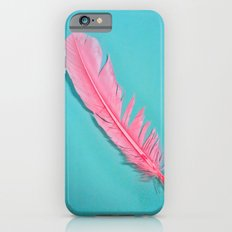 PINK FEATHER Slim Case iPhone 6s