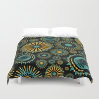 All That Jazz Duvet Cover