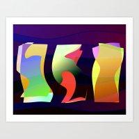 Harmonics for the Wine-Dark Sea Art Print