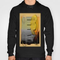 Abstract Seascape Hoody