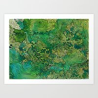 Topography 3 Art Print