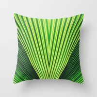 50 Shades of Green (2) Throw Pillow
