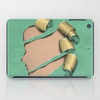 real woman iPad Case