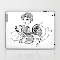 Woman On Bird Laptop & iPad Skin
