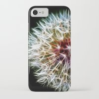 fractal iPhone & iPod Cases featuring Fractal dandelion by Mark Nelson