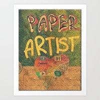 Paper ARTIST Art Print