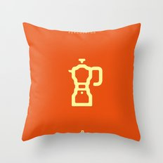 Coffee: The Percolator Throw Pillow