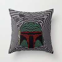 Boba Effect Throw Pillow
