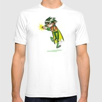 Robin, The Boy Wonder Sk… Mens Fitted Tee White SMALL