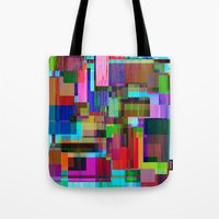 Cubist Candy Tote Bag