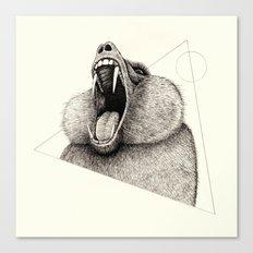 'Wildlife Analysis III' Canvas Print