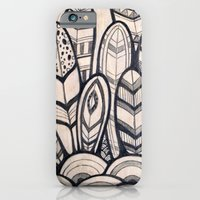 iPhone & iPod Case featuring Feathers by jewelwing