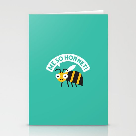 Full Metal Yellow Jacket Stationery Card