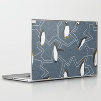 penguin Laptop & iPad Skins featuring Penguin by Julia Brnv