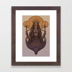 Goddess Hecate Framed Art Print