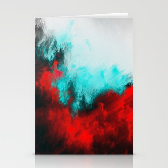 Painted Clouds III.1 Stationery Card