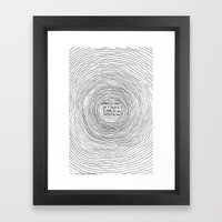 Fell In Love With The Su… Framed Art Print