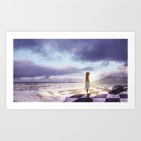 Art Print featuring The Lost Story by Viggart