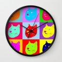 Pop art shiba  Wall Clock