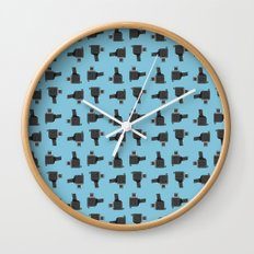camera 03 pattern Wall Clock