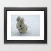 Bob (the bunny) Framed Art Print