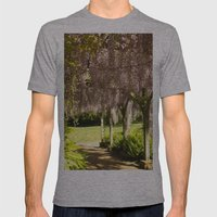 Weeping Walkway Mens Fitted Tee Athletic Grey SMALL