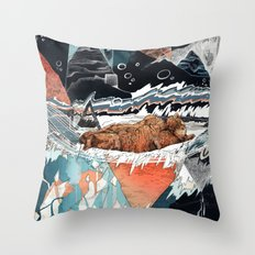 Seconds Behind Throw Pillow
