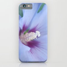 Soft Purple Hibiscus Flower #1 #art #society6 iPhone 6 Slim Case