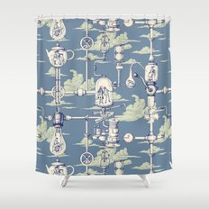 Apnea City Shower Curtain