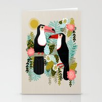Toucans By Andrea Lauren… Stationery Cards