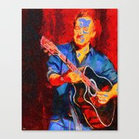 The Guitarist Canvas Print