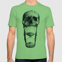 Demise of Time Mens Fitted Tee Grass SMALL