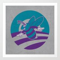 Obama Vs Hornets - Welco… Art Print