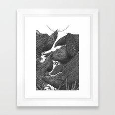 Sunset Of Crow III Framed Art Print