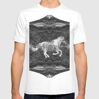 Ciel Du Cheval Mens Fitted Tee White SMALL