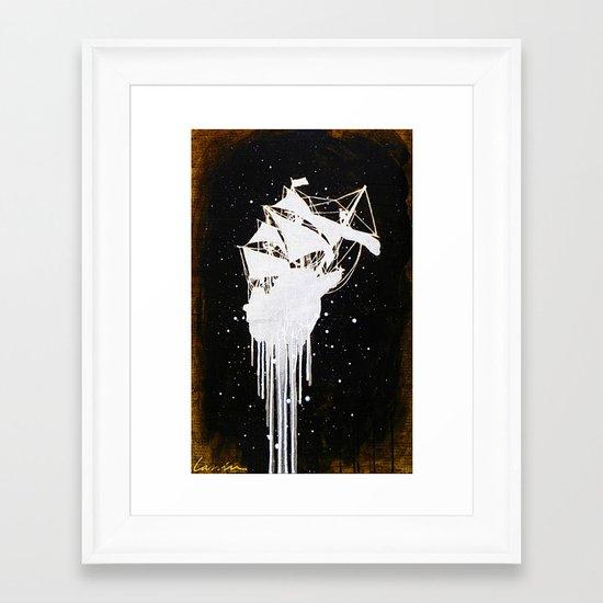 """""""Le Dernier Voyage"""" Framed Art Print"""