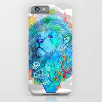 iPhone & iPod Case featuring Fire Lion by Liviu Matei