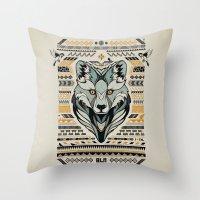 BLN Throw Pillow