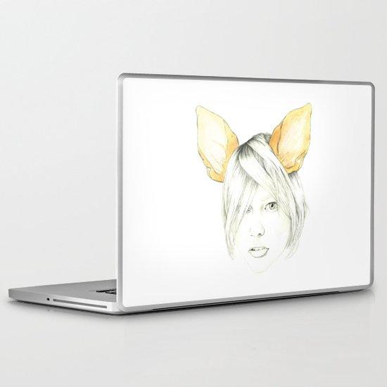 Chihuahua girl Laptop & iPad Skin