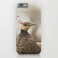 Little Miss Peahen iPhone 6 Slim Case