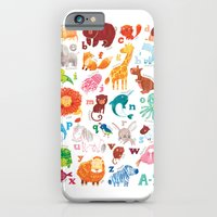 iPhone & iPod Case featuring Animalphabet by Emma Randall