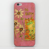 Be Happy iPhone & iPod Skin