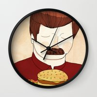 You Had Me At Meat Torna… Wall Clock