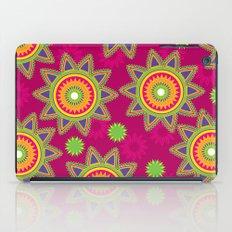 Moroccan Flower Wine iPad Case
