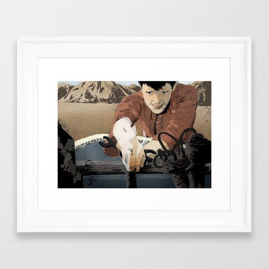 The Mechanic Framed Art Print