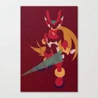 Megaman Zero Canvas Print