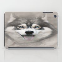 Siberian Husky 2 iPad Case
